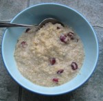 Quinoa-Cranberry Pudding