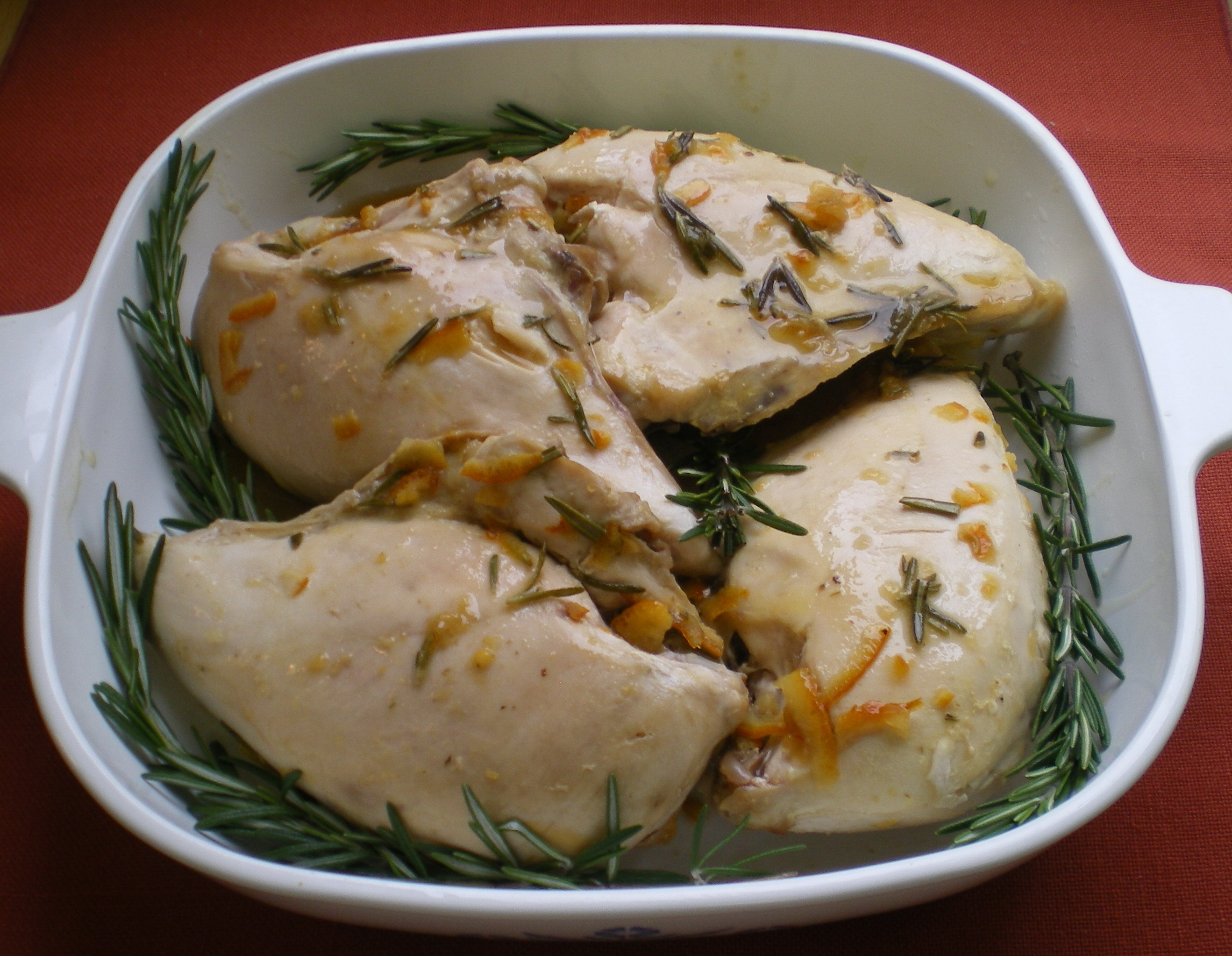 Orange Rosemary Chicken Breasts | The Food ReFashionista